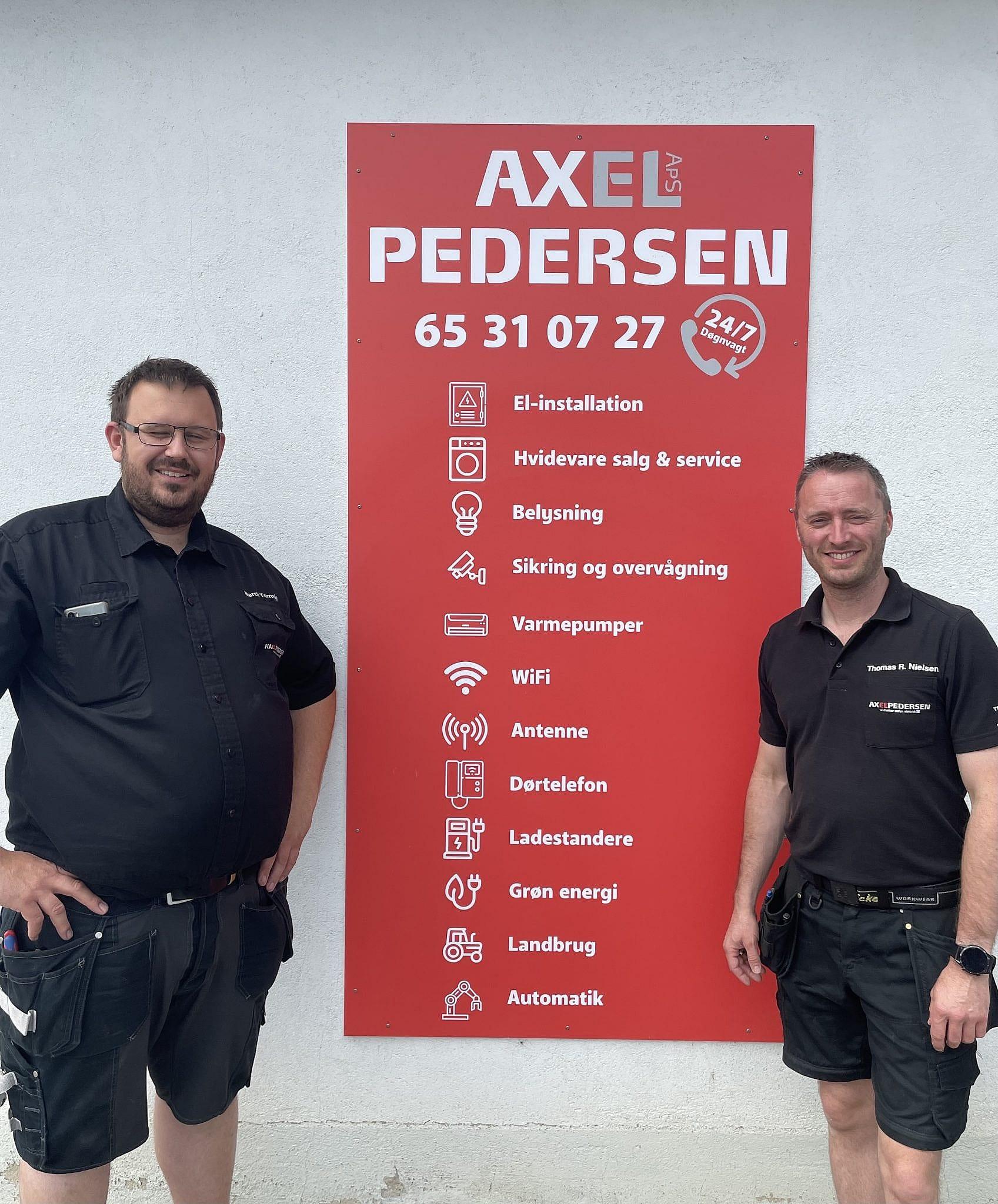 Axel Pedersen ApS i Nyborg