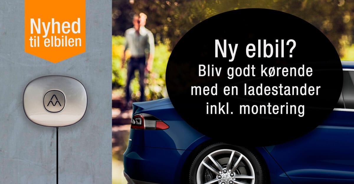 Elbil_ladestander_montering