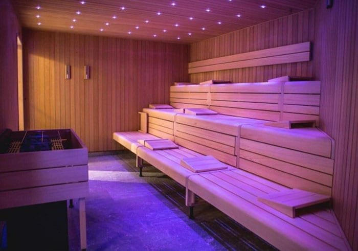 sauna Nyborg Strand Hotel
