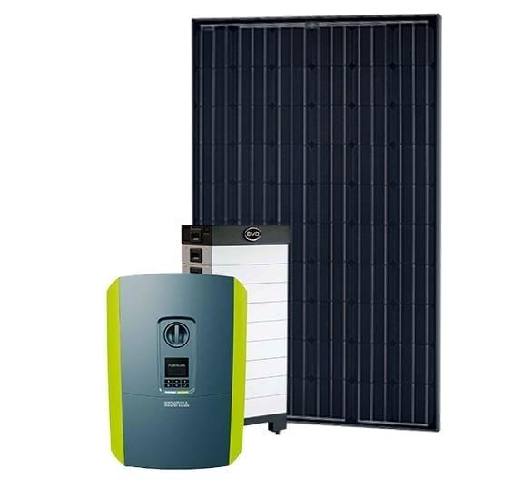 Solcelleanlæg med batteri af BR-EL A/S