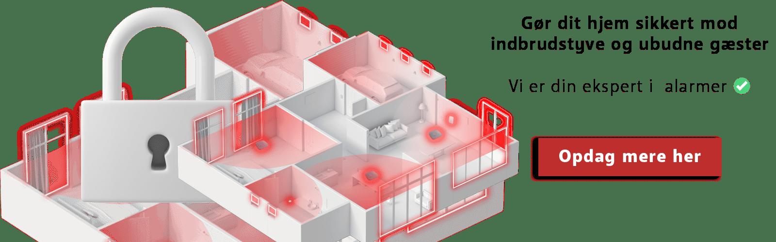 Gør dit hjem sikkert med en alarm af Axel Pedersen ApS